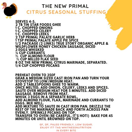 The New Primal recipe nov