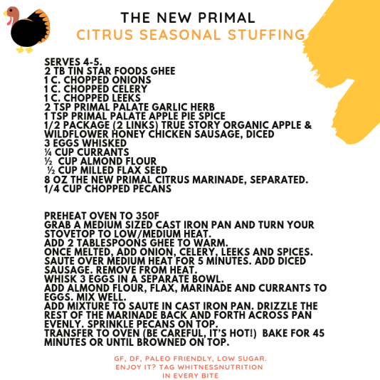 The New Primal recipe nov